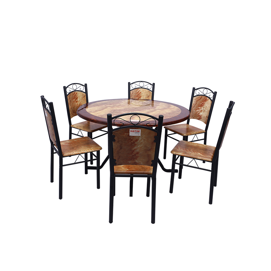 Dining Set -HTDHT-205-DS-0968 (1+6)